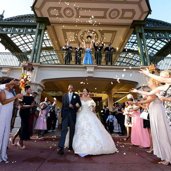 Walt Disney World Wedding Spotlight: Jarrett & Shajuana