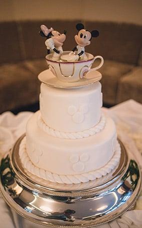 Disney Wedding Cakes Gallery