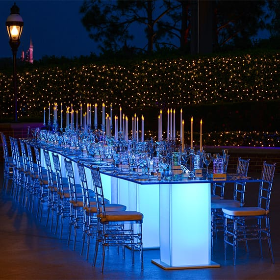 Decor: A Cinderella Inspired Glass Slipper Reception