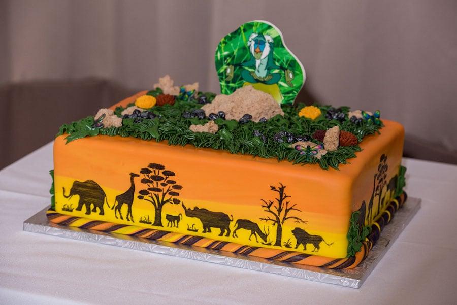Wedding Cake Wednesday Lion King Groom S Cake Disney