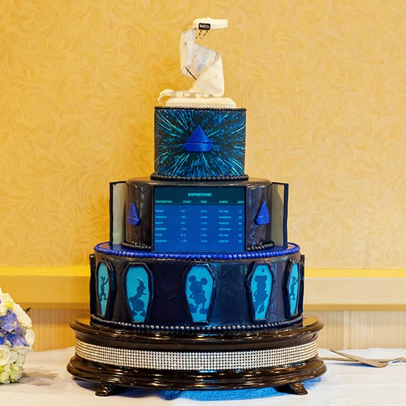 Wedding Cake Wednesday Star Wars Millennium Falcon Disney