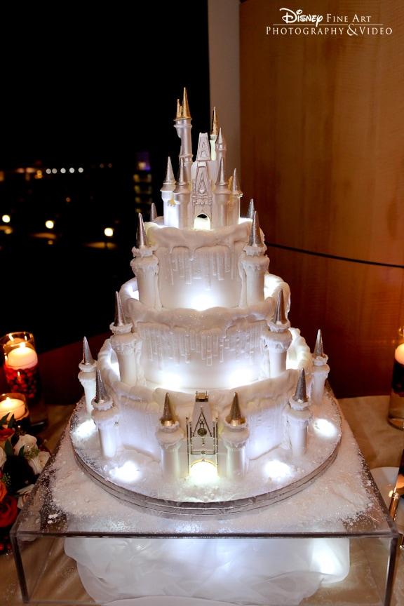 Wedding Cake Wednesday Holiday Ice Castle