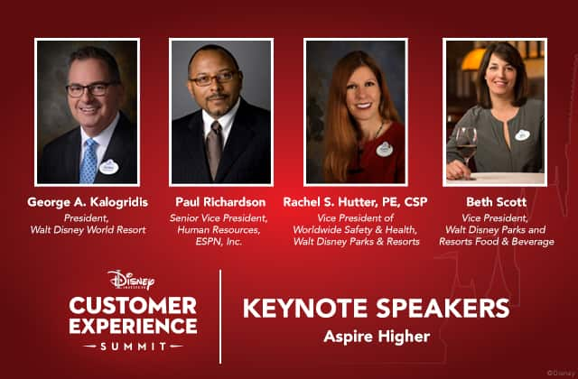 Announcing Our Keynote Speakers For The Disney Institute