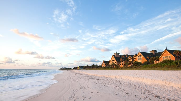 Disney S Vero Beach Resort Overlooking The Atlantic Ocean On Florida Treasure Coast