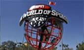 The ESPN Wide World of Sports globe sculpture